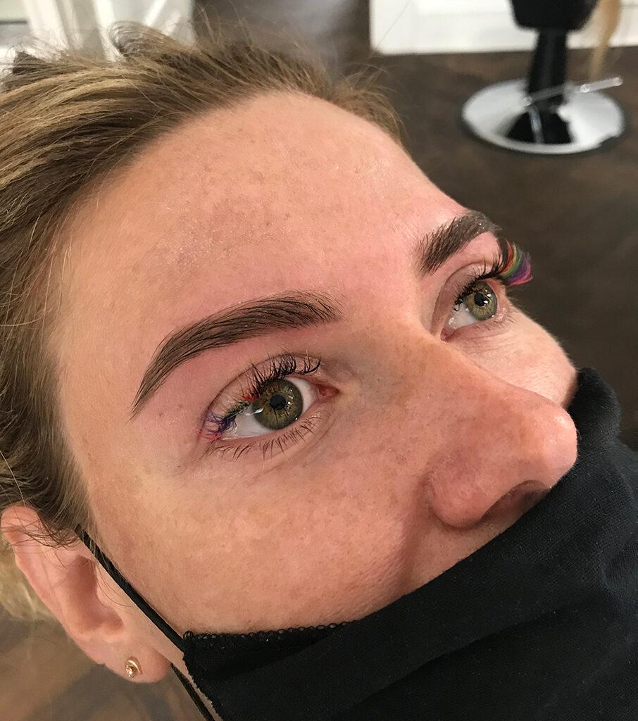 farbowanie brwi henna brwi wrocław kasia stach makeup