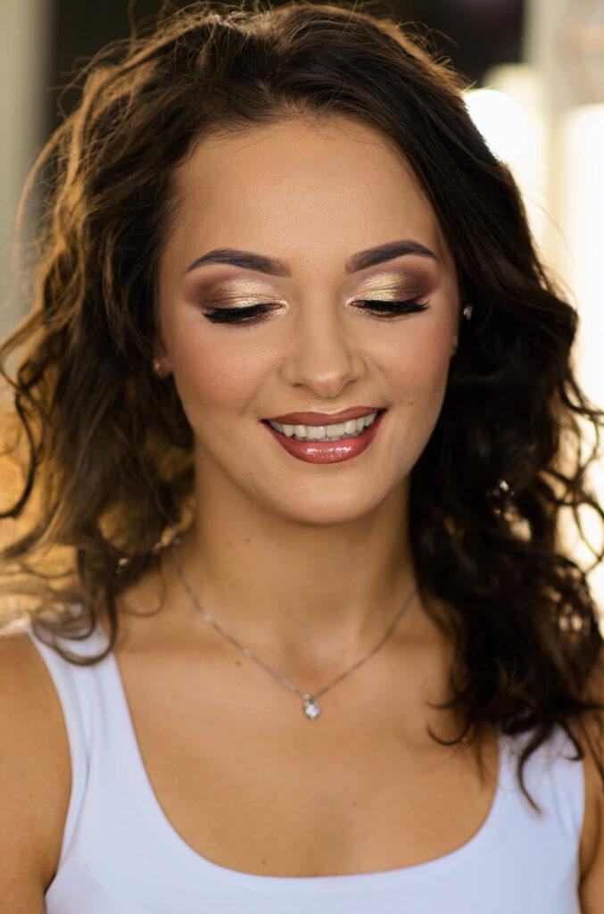 makijaz slubny dla brunetki kasia stach makeup Elvyra