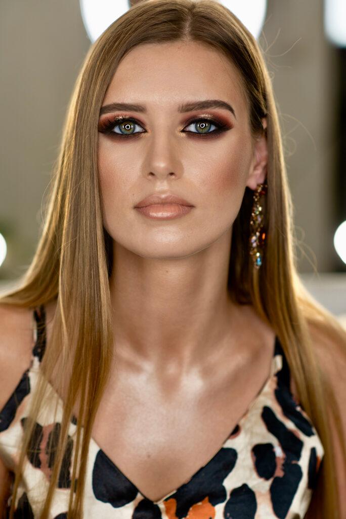 makijaz wieczorowy Kasia Stach makeup Monika 3