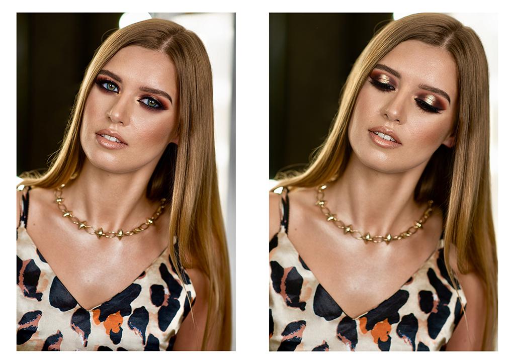 makijaz wieczorowy dla blondynki kasia stach makeup pantera1